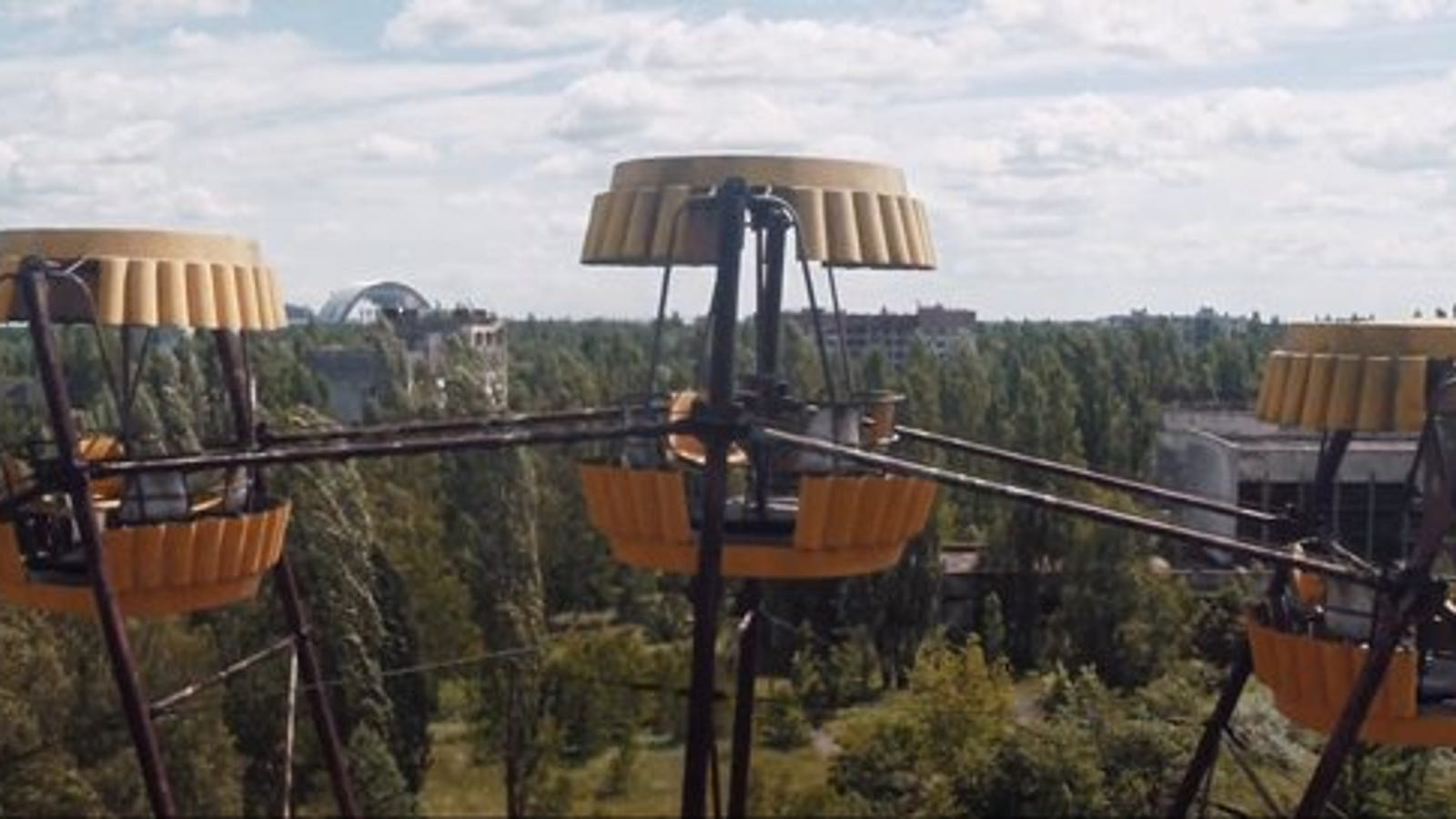 This Drone Footage From Chernobyl Is Beautifully Haunting