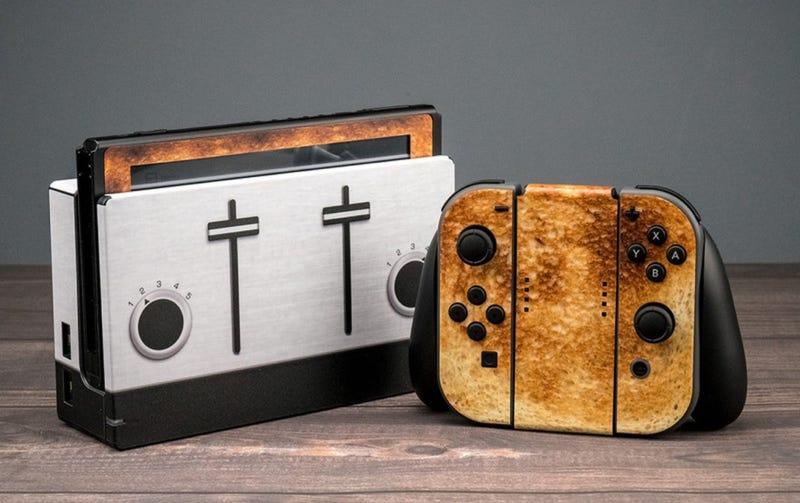 Illustration for article titled God Bless Nintendo Switch Skins