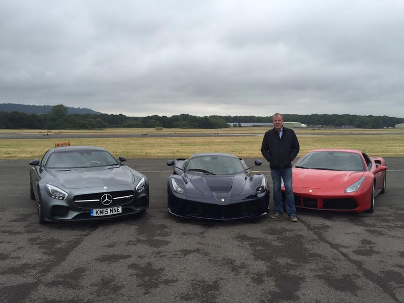 Illustration for article titled Which of these cars did Jeremy drive for one last time at Dunsfold?