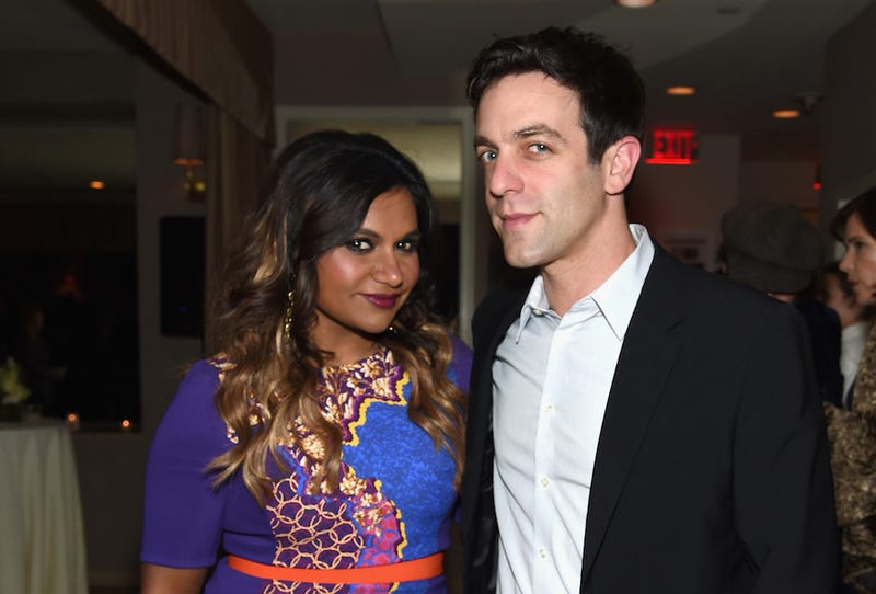 Illustration for article titled Mindy Kaling and B.J. Novak Are Writing a Book About Their Relationship