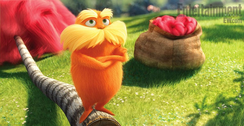 Illustration for article titled Lorax promo pics