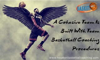 Illustration for article titled A Cohesive Team Is Built With Team Basketball Coaching Procedures