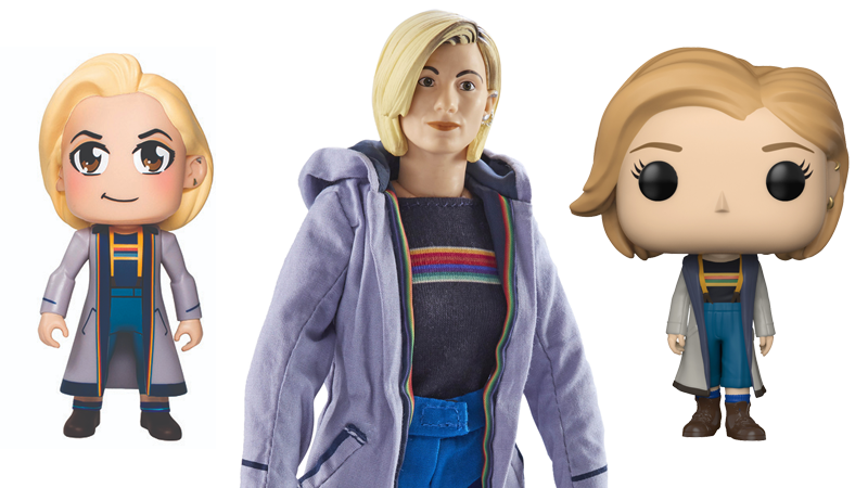 Illustration for article titled The Very First 13th Doctor Toys and Apparel Are Here