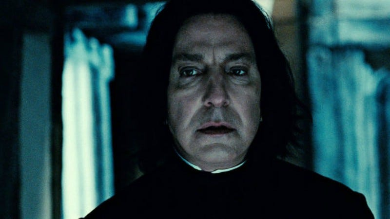 J K  Rowling Apologizes for Killing Snape and Harry Potter