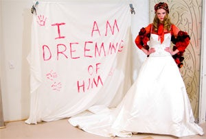 Illustration for article titled Reem Acra Bridal And The Amazing Technicolor Dreamcoat