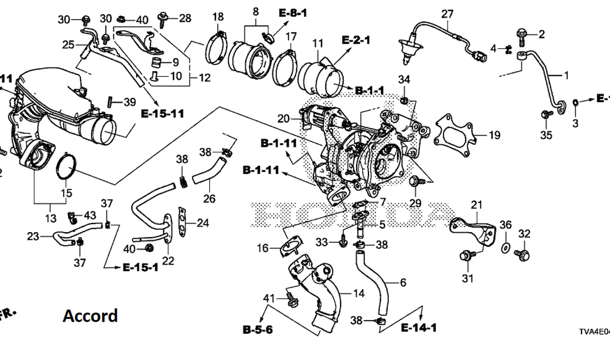Heres Exactly What Makes The 2018 Honda Accord And Civic Type R Heater Hose Diagram Further Cooling System Engines Different