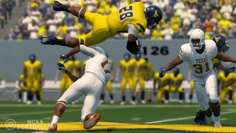 Illustration for article titled Top 25 Polls Determine Payments in EA Sports' College Game