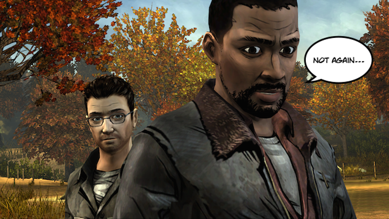 The Walking Dead: Episode 1: A New Day for iPhone/iPad