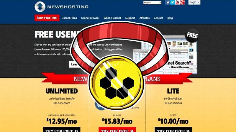 Illustration for article titled Most Popular Usenet Provider: Newshosting