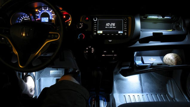 Add Automatic Lights to Your Glove Box, Footwells of Your Car