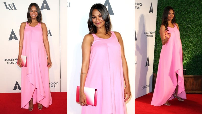 Illustration for article titled Zoe Saldana: Pretty Perfect in Pink