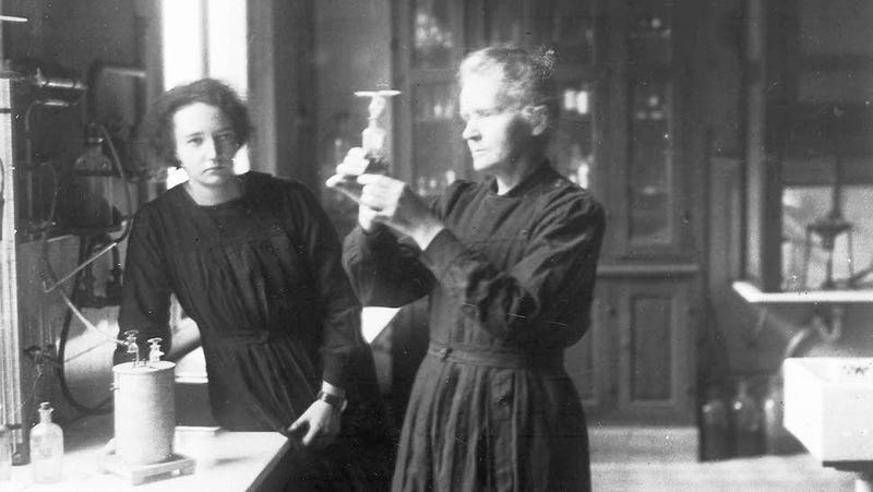 Marie Curie's century-old radioactive notebook still ...