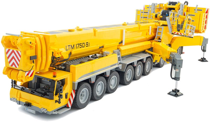 Mobile Crane Explained : Lego crane ideas gallery