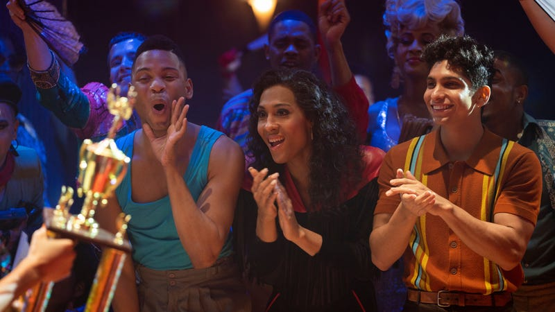 Ryan Jamaal Swain, MJ Rodriguez, and Angel Bismark Curiel star in Pose