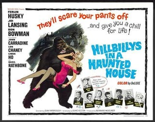 Illustration for article titled Hillbillys in a Haunted House (1967)