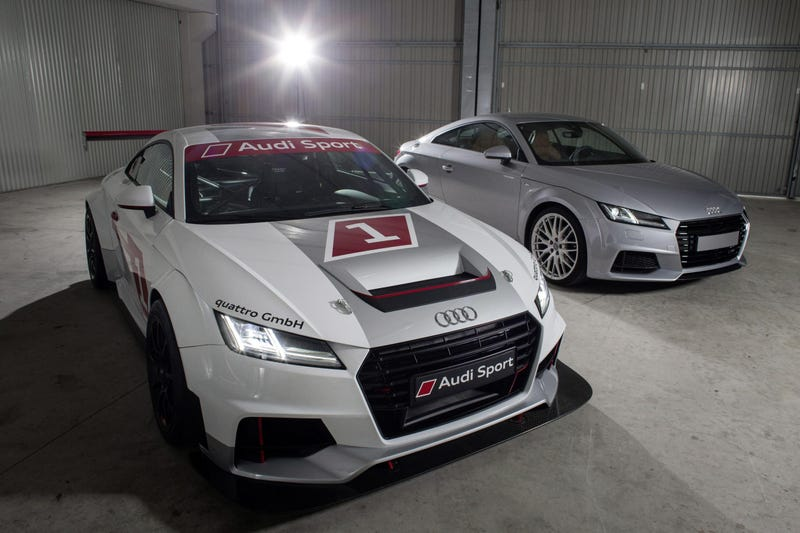 Illustration for article titled The Audi TT's Balls Just Dropped