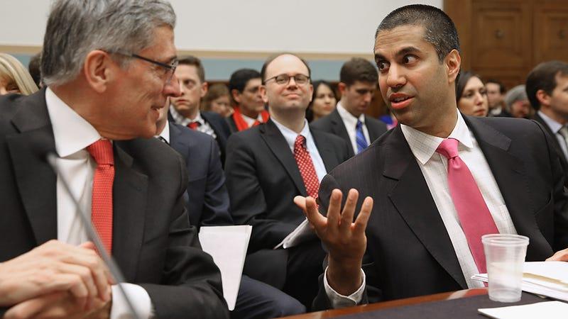 FCC Chairman Ajit Pai. Photo: Getty