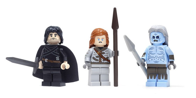 "Illustration for article titled Game Of Thrones ""LEGO"" Is As Awesome As It Is Expensive"