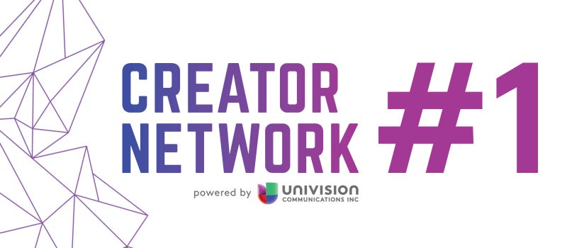 Illustration for article titled Univision Creator Network Maintains Position as #1 U.S. Hispanic-Focused Multichannel Network,Expands Reach and Engagement with New Gen Z Influencers