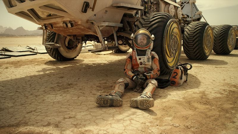 Ridley Scott knew there was water on Mars, didn't have time to change The Martian