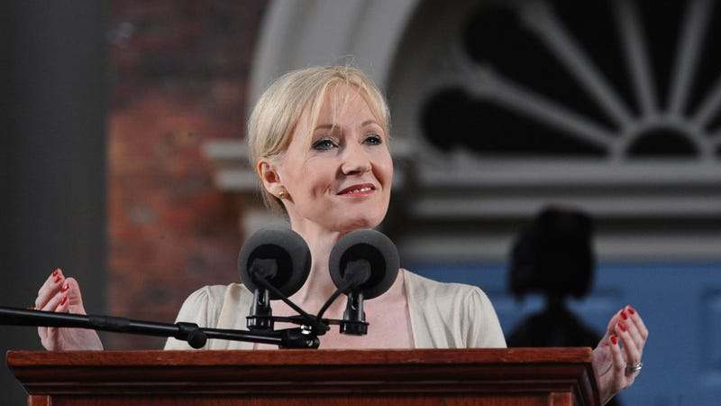 Illustration for article titled J.K. Rowling Loses Billionaire Status by Being a Lovely and Charitable Person
