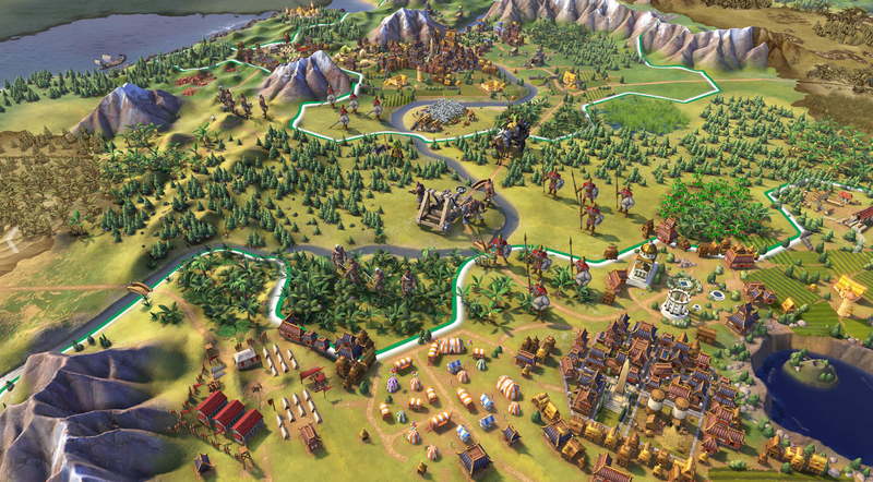 Illustration for article titled Civilization VI's Cities Are Like Nothing Civ Has Done Before