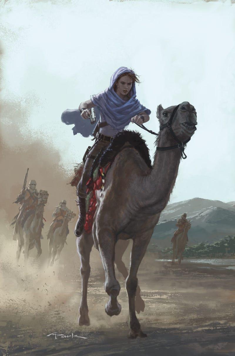 Lara with horse part 2