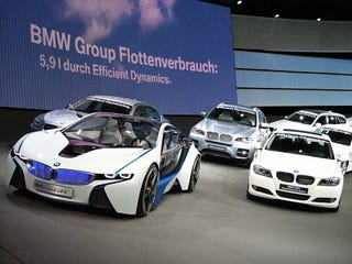 Illustration for article titled BMW Vision EfficientDynamics Concept: Live Photos
