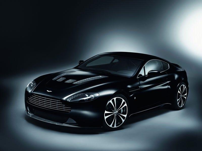 Aston Martin Carbon Black DBS V Vantage Take Hours To Paint - Black aston martin