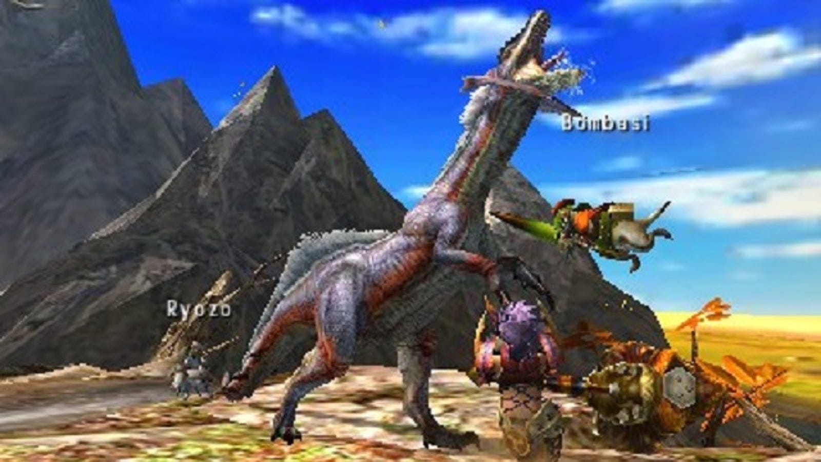 Monster Hunter 4 Ultimate Focuses On More Than Ground Level