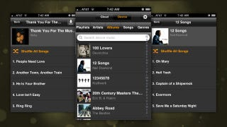 Illustration for article titled Amazon Cloud Player for iPhone Gives You Access to Your Cloud Drive Music Anywhere