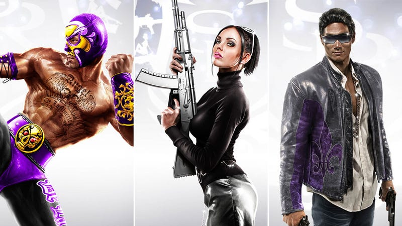 Illustration for article titled A Porn Star, A Pro Wrestler and Jin from Lost Walk Into Saints Row: The Third