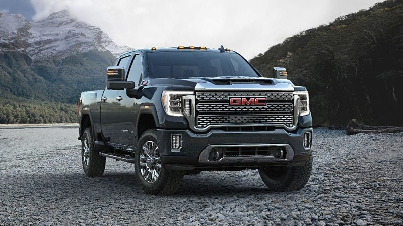 Illustration for article titled The 2020 GMC Sierra HD Adds Luxury and Loses That Face