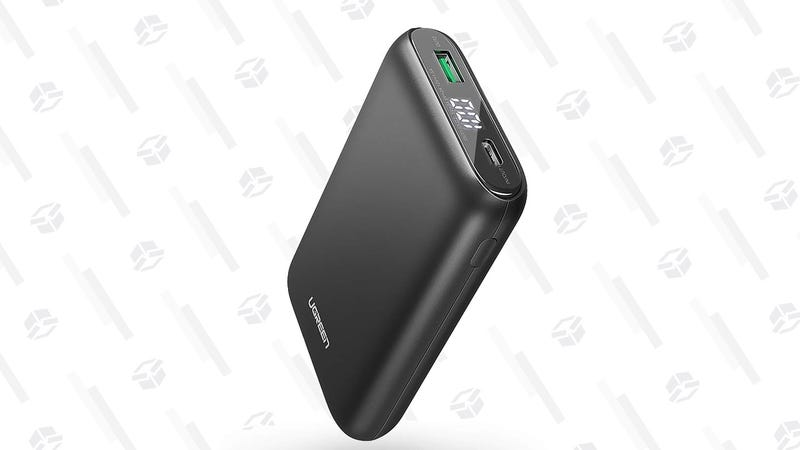 UGREEN Portable Charger 10000mAh PD 18W | $15 | Amazon | Clip the 5% coupon and use code UGREEN399