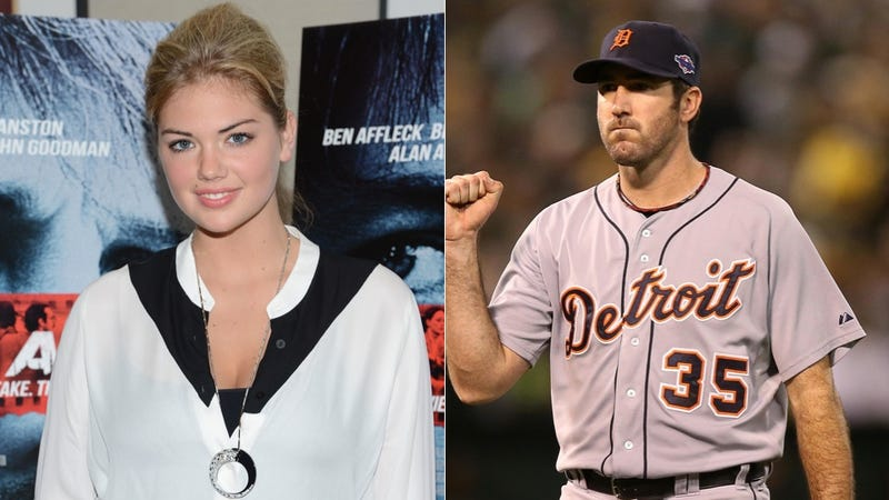 "Illustration for article titled Justin Verlander And Kate Upton Are A ""Good-Looking Pair,"" According To Justin Verlander's Grandfather"