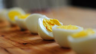 Illustration for article titled Upgrade Your Hard Boiled Eggs with a Quick Sear