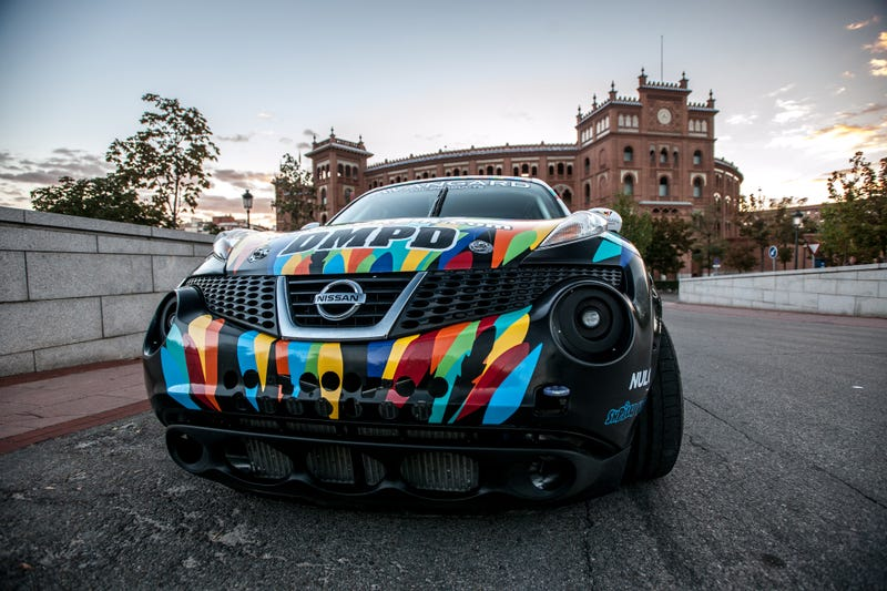 everything you need to know about the russian juke r gymkhana car