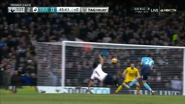 Heung-Min Son Fires Spectacular Volley To Give Spurs 2-0 Lead