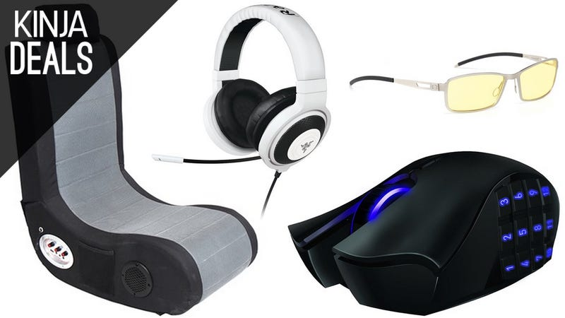 Illustration for article titled Pick Up Some New Gaming Gear on the Cheap, Courtesy of Woot
