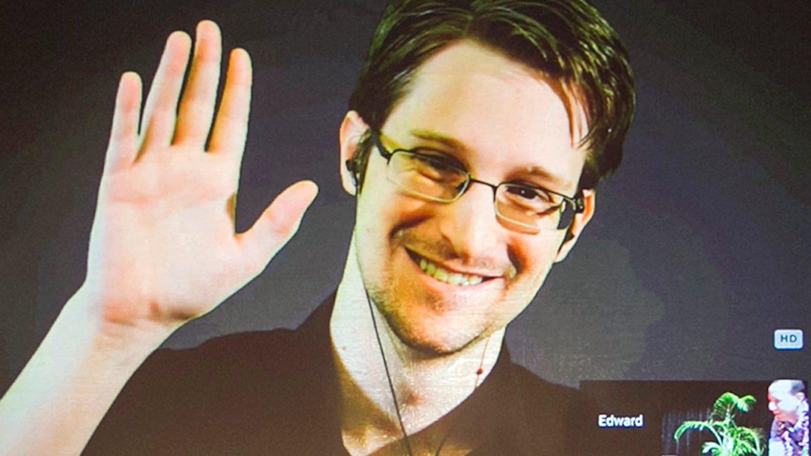 DOJ Sues for All of Edward Snowden's Book Profits