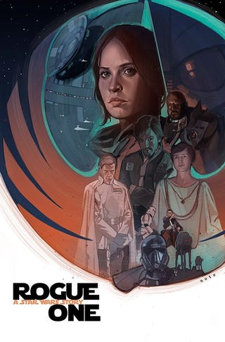Art by Phil Noto, who's drawing the Poe Dameron comic and did Chewbacca, too.