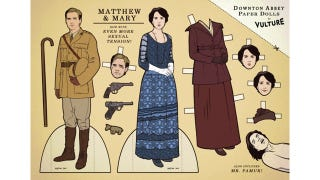 Illustration for article titled Four Words: Downton Abbey Paper Dolls