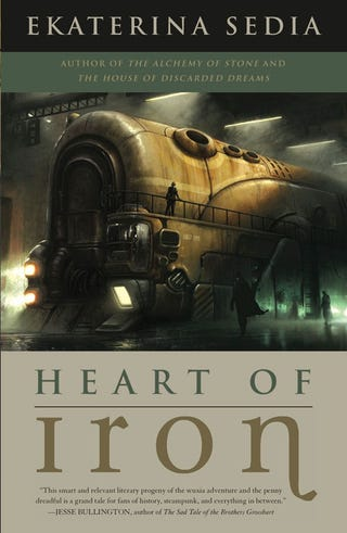 Illustration for article titled The io9 Book Club is in session! Let's talk about Ekaterina Sedia's Heart of Iron