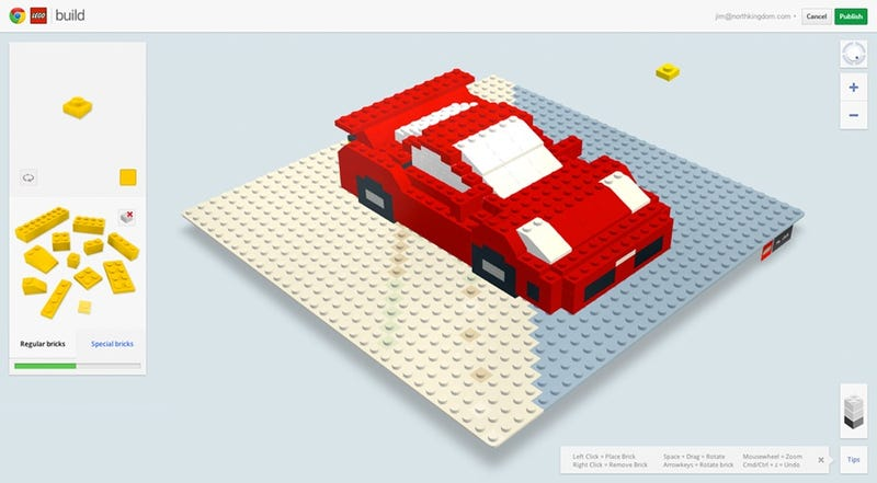 Illustration for article titled Virtual LEGO