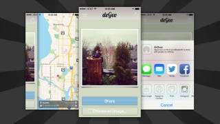 Illustration for article titled DeGeo Removes Location Data from iPhone Photos Before Sharing