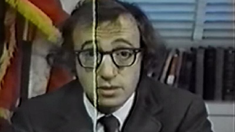 Illustration for article titled Here's a long-lost Woody Allen TV special mocking the Nixon administration