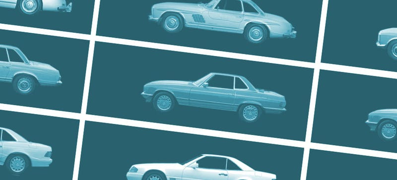 Illustration for article titled These Mercedes Evolution Morphs Are Oddly Hypnotizing