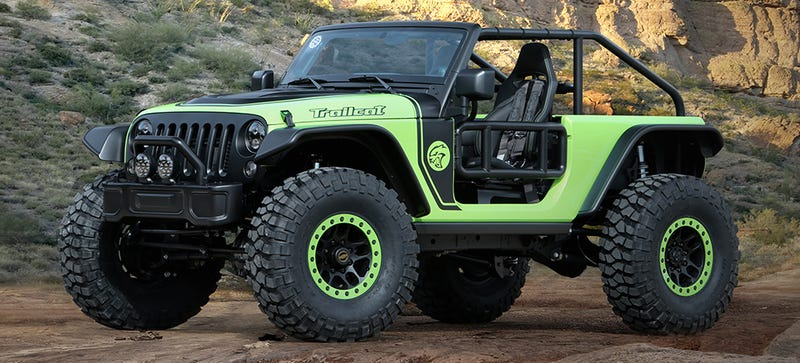 ... 707 HP Jeep Wrangler Trailcat Is The Hellcat In Glorious Wrangler Form