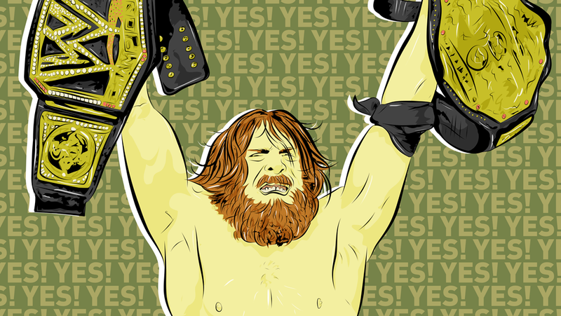 Illustration for article titled Daniel Bryan's Yes! Is The Worked Shoot Of Wrestling Books