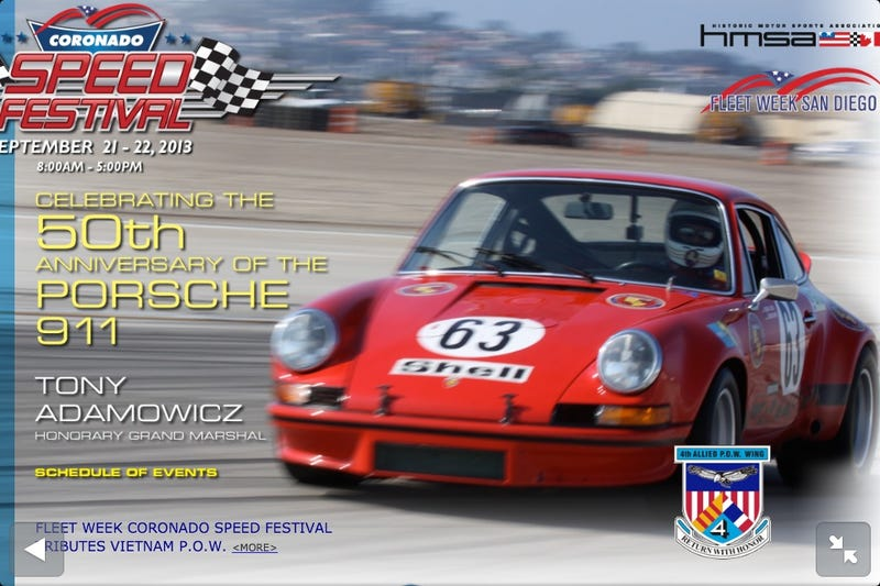Illustration for article titled 2013 Coronado Speed Festival